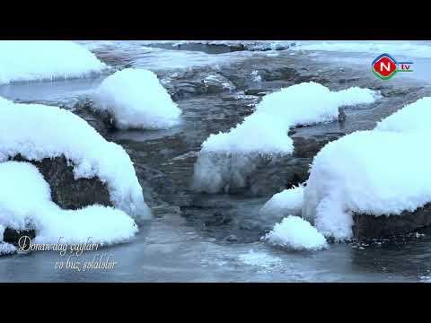 Dağ çayları və buz şəlalələri 03.02.2021