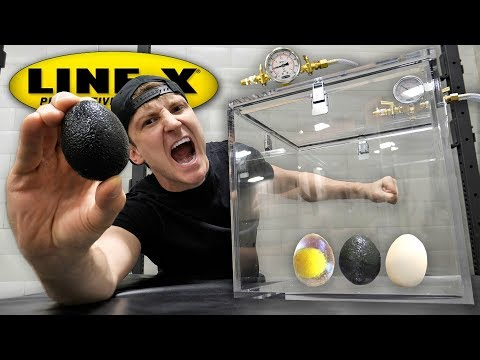 What Happens When You Put a LINE-X EGG in a Vacuum Chamber? (LINE-X EGG EXPERIMENT)