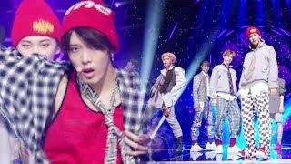 《POWERFUL》 NCT 127 - Cherry Bomb @인기가요 Inkigayo 20170709