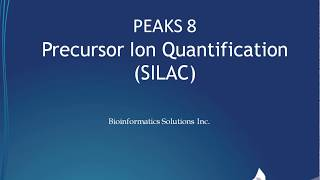PEAKS Q Labelling Quantification – SILAC