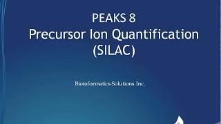 PEAKS Q Labelling Quantification – SILAC