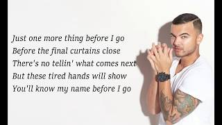 Guy Sebastian   Before I Go (Lyrics)