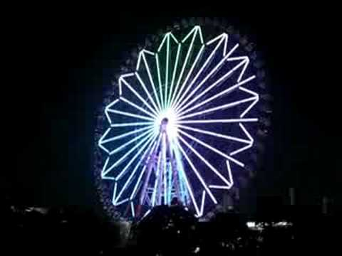 Odaiba's Ferris Wheel (Tokyo) at night