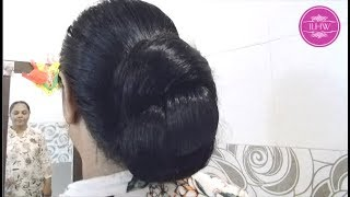Sujata S Below Knee Length Hair Brushing Loose Cobra Braid Making