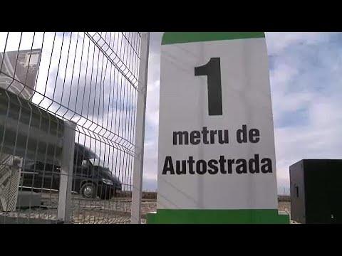Ρουμανία: Πρωτότυπη διαμαρτυρία για το κακό οδικό δίκτυο…