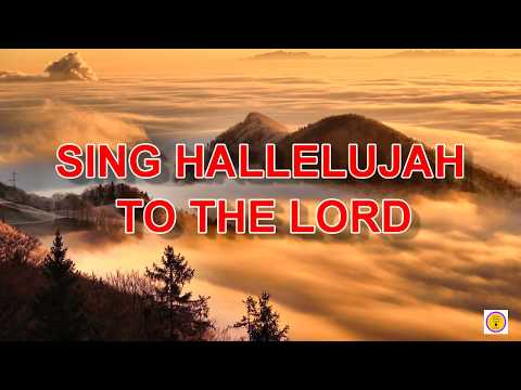 Sing Hallelujah To The Lord || Guitar Chords and Lyrics || English Gospel Song