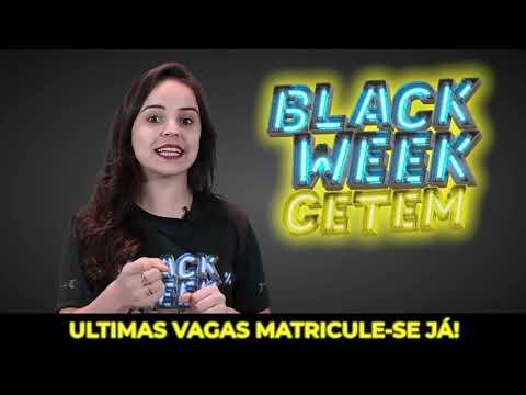Black Week CETEM 2020: Ultimas vagas