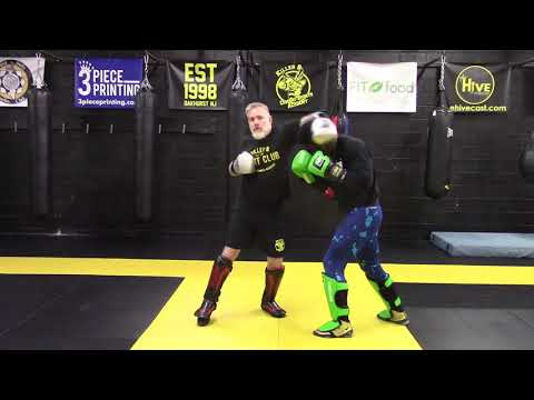 Jab Hook to the Head with Partner