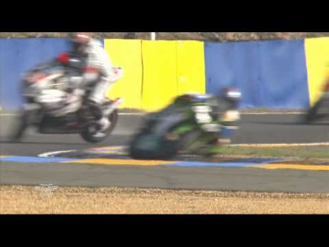Crash Motors Events percute par National Moto – 24h du Mans 2010.avi