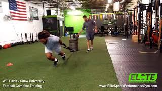 Will Davis - NFL Combine Training