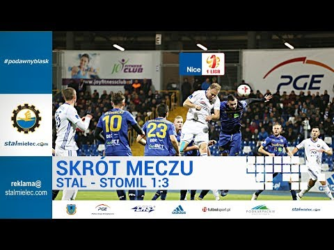 Skrót meczu Stal Mielec - Stomil Olsztyn 1:3