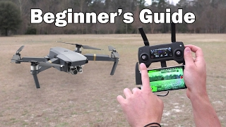 Beginner's Guide Part 1 - DJI Mavic Pro