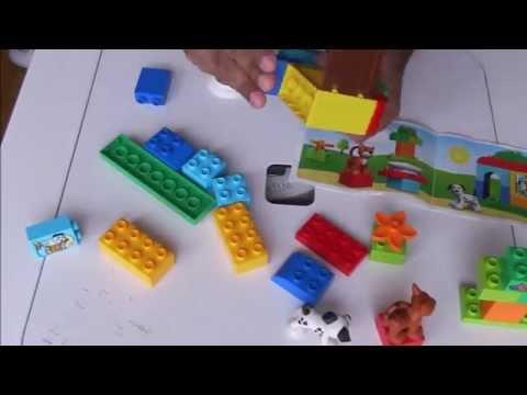 Vidéo LEGO Duplo 10570 : Boîte de briques et d'animaux