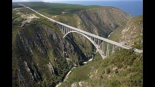 SOUTH AFRICA - The Worlds Highest Bungee Jump Bridge(216 Meter)