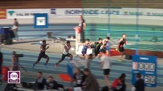 Val de Reuil 2018 : Finale 60 m Cadets (Aurelien Larue en 6''81)