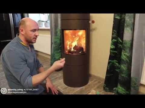 Печь-камин Rais Viva 120 Moca — современное решение для дома. Печь вместо камина с топкой
