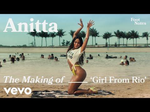 Anitta natural y talentosa en el making of Girl From Rio