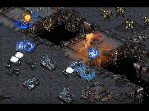 Hiya (T) v Sky (P) on Fighting Spirit - StarCraft  - Brood War REMASTERED