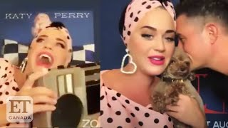 Orlando Bloom Scares Katy Perry During 'Smile Sunday' Livestream