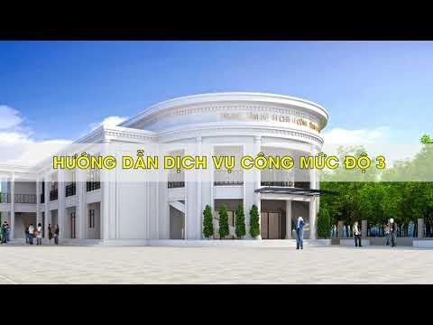 Hướng dẫn sử dụng Dịch vụ công trực tuyến tỉnh Hà Tĩnh