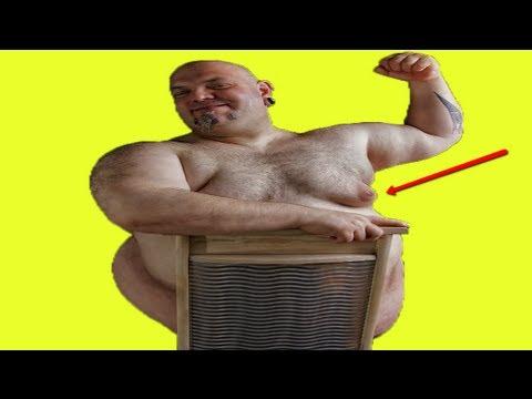 Das überflüssige Fett mit zu entfernen