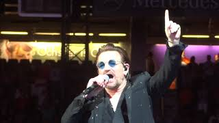 U2 - One + You're The Best Thing About Me + I Will Follow New Orleans 09 / 14 / 2017 | Kholo.pk