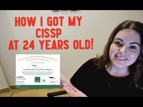 Cybersecurity   How I Became A FULLY Certified CISSP At Just 24 ...