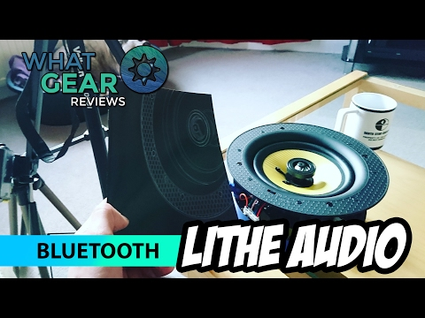 The best Ceiling Speaker! Lithe Audio