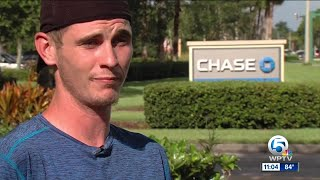 Port St. Lucie man says Chase Bank ATM took cash, did not deposit in account