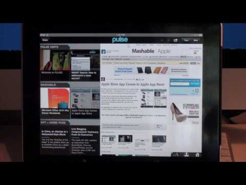 Pulse News Reader App Review for iPad
