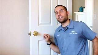 Unlocking a Deadbolt Using a Bump Key