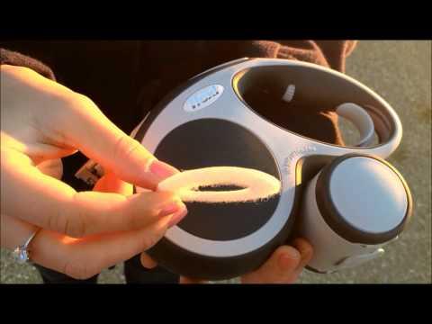 Удлинитель поводка Vario LED Soft Stop Belt