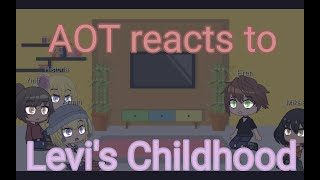 AOT reacts to Levi's childhood.