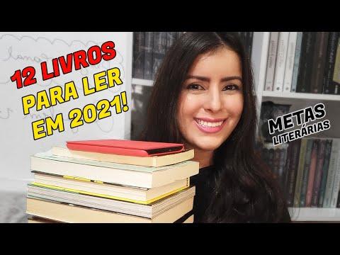 12 LIVROS PARA LER EM 2021 [MINHAS METAS DE LEITURA]