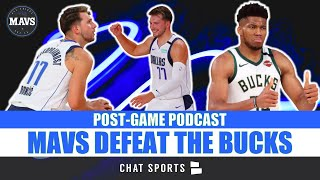Luka Doncic, Dallas Mavericks DEFEAT The Milwaukee Bucks | OVERTIME, Reaction, Highlights & Stats
