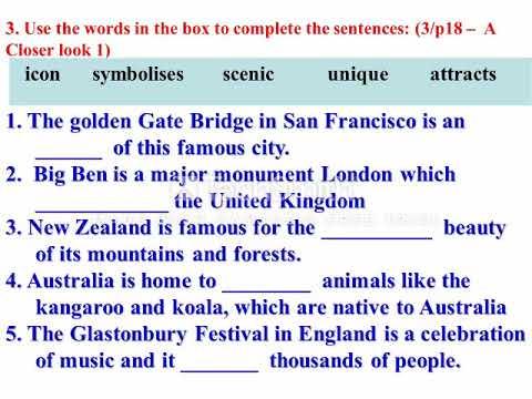 Tiếng Anh Lớp 8 (Hệ 10 Năm):   UNIT 8   VOCABULARY GRAMMAR