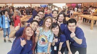 Открытие Apple Store в Сингапуре!