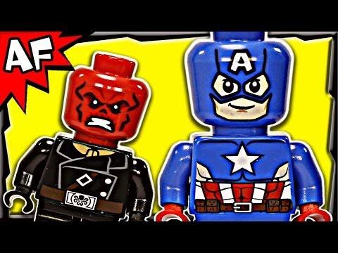 Vidéo LEGO Marvel Super Heroes 76017 : Avengers: Captain America contre Hydra