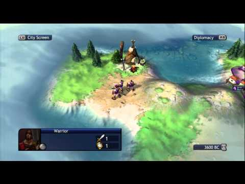 Видео № 1 из игры Sid Meier's Civilization Revolution [PS3]