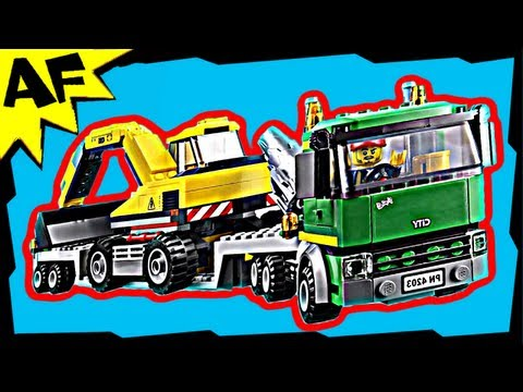 Vidéo LEGO City 4203 : Le transporteur