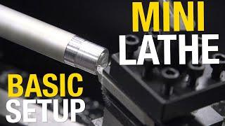 Mini Lathe Basic Setup and Operation - Start Machining in YOUR Home Shop! Eastwood