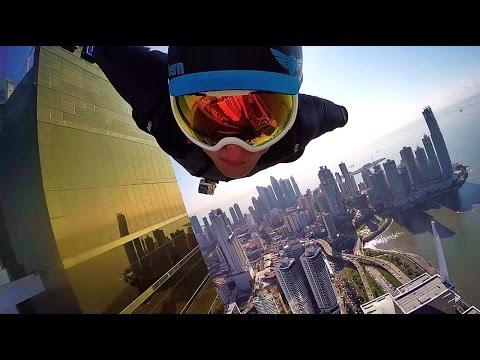 hqdefault - Haciendo salto con Wingsuit en la ciudad