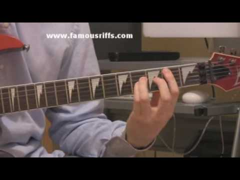 Learn Electric Guitar Lessons - How To Play Cocaine - Easy Guitar Riffs