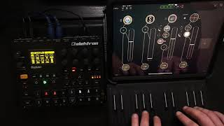 Digitakt & Ipad granular sound exploration