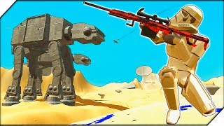 ЭЛИТНАЯ КАРТА STAR WARS - Игра Ravenfield НОВАЯ КАРТА BATTLE OF JAKKU В РЕВЕНФИЛД. Битва солдатико