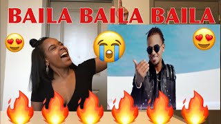 Ozuna- BAILA BAILA BAILA (Video Oficial) REACTION