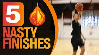 5 Finishing Moves For UNDERSIZED Players with Coach Damin Altizer - EGT Basketball