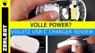 """Review: USB-C Lader """"Volutz Quantum"""""""