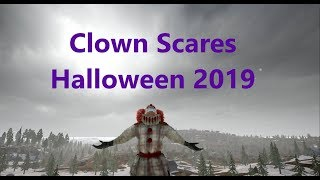 CLOWNS Scaring Streamers! PUBG Jumpscares Pt.4! HALLOWEEN 2019