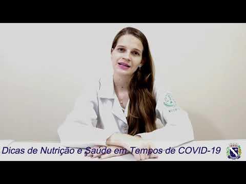 CORONAVÍRUS: DICAS DE NUTRIÇÃO E SAÚDE EM TEMPOS DE COVID-19